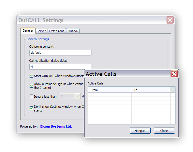 View topic - OutCall - Asterisk and Microsoft Outlook