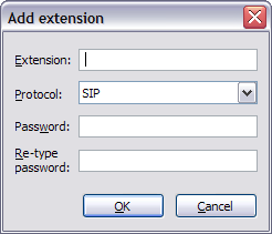 OutCALL - Add extension